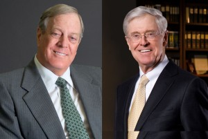 David and Charles Koch (Koch Industries)